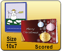 10 x 7 Scored - Greeting Cards | Cheapest EDDM Printing