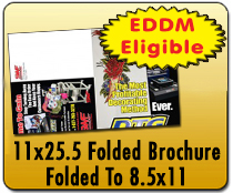 11x25.5 Trifold - Direct Mail | Cheapest EDDM Printing