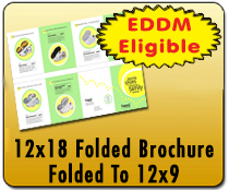 12x18 Folded Brochure - Direct Mail | Cheapest EDDM Printing