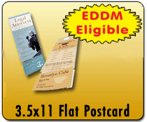3.5x11 PC - Direct Mail | Cheapest EDDM Printing