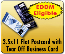 3.5x11 Perf PC - Direct Mail | Cheapest EDDM Printing
