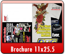 Brochure 11 x 25.5 - Direct Mail | Cheapest EDDM Printing