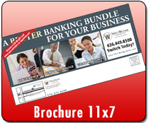 Brochure 11 x 7 - Direct Mail | Cheapest EDDM Printing