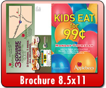 Brochure 8.5 x 11 - Direct Mail | Cheapest EDDM Printing