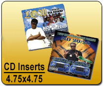 CD Inserts 4.75 x 4.75 - CD/DVD | Cheapest EDDM Printing