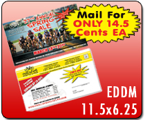 EDDM 11.5 x 6.25  - Direct Mail | Cheapest EDDM Printing