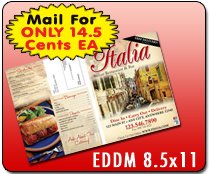 EDDM 8.5 x 11 - Direct Mail | Cheapest EDDM Printing