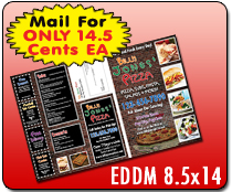 EDDM 8.5 x 14 - Direct Mail | Cheapest EDDM Printing