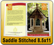 Saddle Stitched 8.5 x 11 - Catalog | Cheapest EDDM Printing